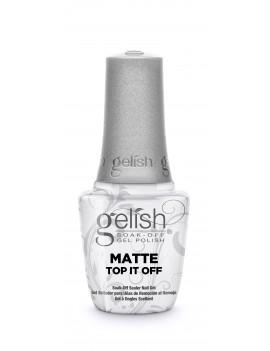 GELISH Matte Top It Off  Верхний слой с матовым эффектом