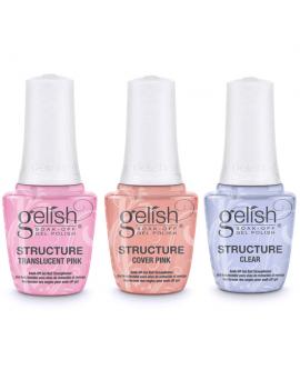GELISH Structure Gel  укрепляющий гель с кисточкой (Прозрачный)