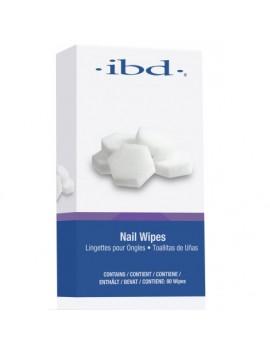 IBD Nail Wipes  Безволоконные спонжи (80шт.)