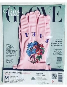 """TrueGlove """"L"""" Размер, Розовые Толстые Перчатки"""